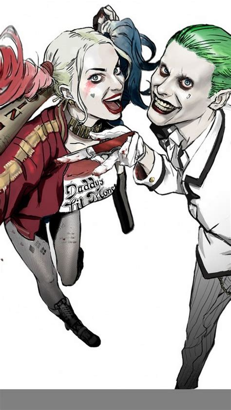 android wallpaper joker  harley  android wallpapers