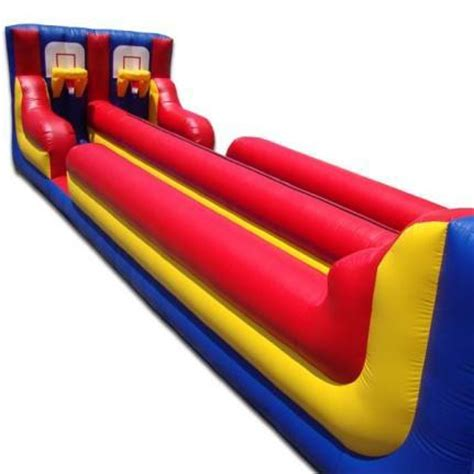 bungee basketball interactive inflatable bounce houses