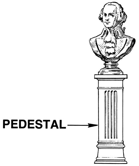pedestal you meaning pedestal meaning and definition