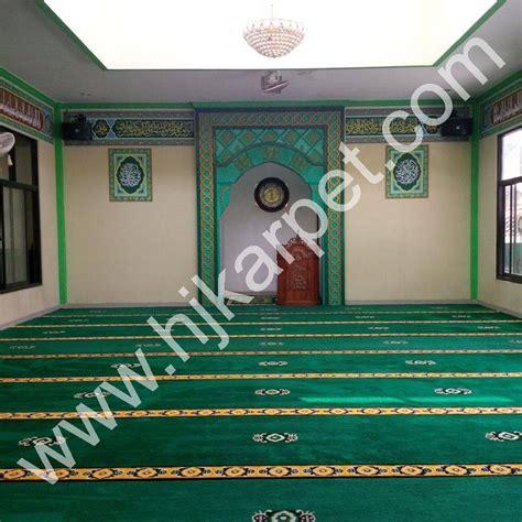 Karpet Masjid Di pemasangan karpet masjid aminul ihsan hjkarpet