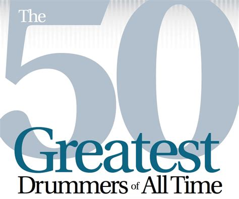 whos the greatest drummer of all time the final round the 50 greatest drummers of all time modern drummer magazine