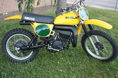 1978 Suzuki Rm 250 1978 Suzuki Rm 250 Rm250 Nos Suzuki Rm For Sale On 2040 Motos