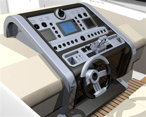 boat dashboard dashboard for a 90ft luxury yacht boat design net gallery
