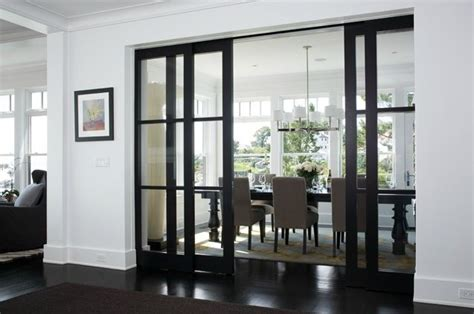 Formal Dining Room With Doors Sliding Doors Separating Dining Room Home Sweet Home