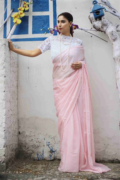 which colour blouse suits for pink saree buy designer sarees and blouses online pink paparazzi