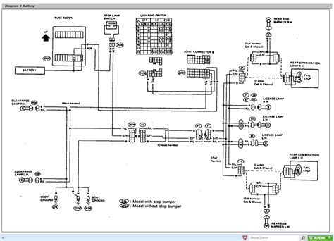 nissan 1400 wiring diagram wiring diagram