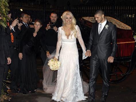 Deeja Maxi Dress wanda nara e mauro icardi di nozze