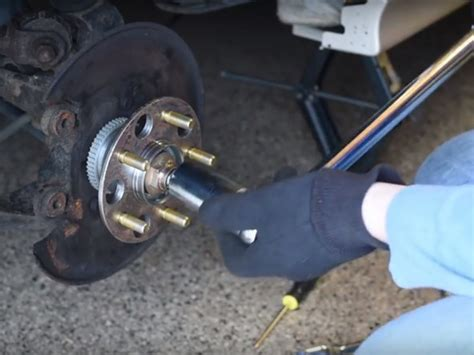 Bearing Honda Accord 1998 2002 honda accord rear wheel bearing hub replacement
