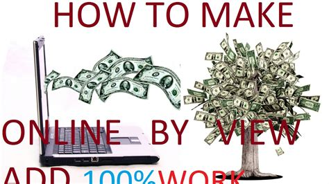 Make Money Watching Ads Online - make money online by viewing ads add dekh kar paise kaise kamate hai youtube