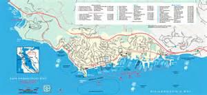 sausalito california map image gallery sausalito map