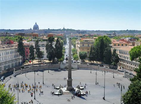 Italy Houses by Piazza Del Popolo Practical Information Photos And
