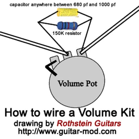 treble bleed resistor wattage rothstein guitars serious tone for the serious player