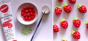 how to make easy fruit candy decorations