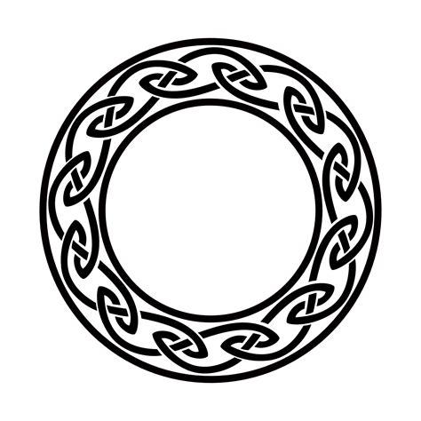 tribal circle tattoo celtic circle knots circle flash tattoos