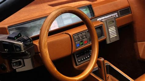 Cars With Digital Dashboards by 20 Retro Cars With The Coolest Digital Dashboards