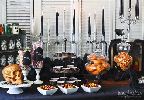 halloween party decoration ideas spooky halloween party set up