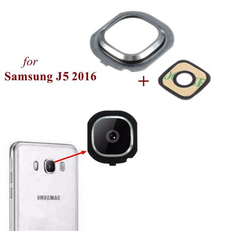 Samsung J5 Frame back rear glass frame holder lens cover for samsung
