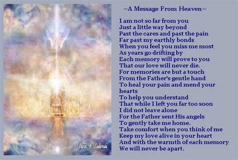 heaven poem poem and images on