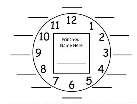 printable clock partners appointment clocks miss donnelly s daily apple