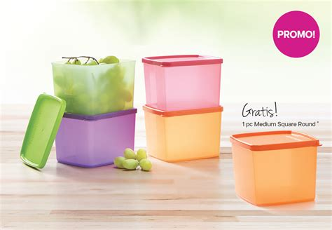 Tupperware Medium Square medium square tupperware katalog promo tupperware