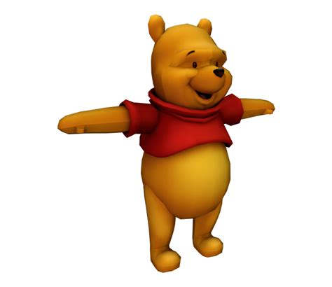 The Models Resource playstation 2 kingdom hearts 2 pooh the models resource