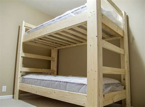 bunk bed plans build a bunk bed jays custom creations