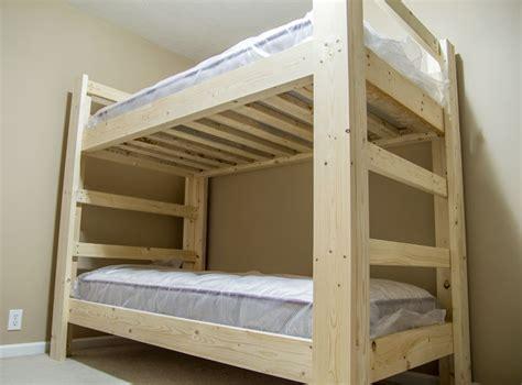 build  bunk bed jays custom creations