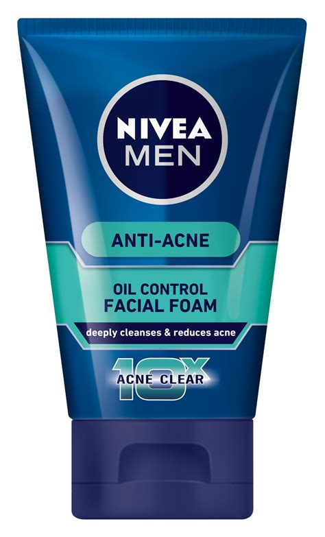 Gizi Active Anti Acne Wash total anti acne foam nivea