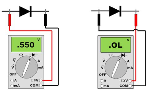 checking a diode diode check