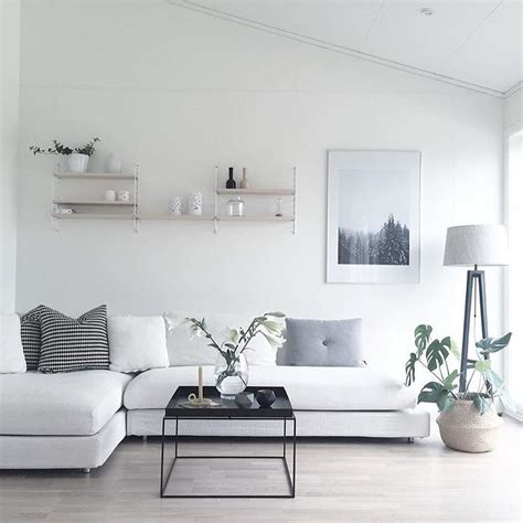 white modern living room best 25 minimalist living rooms ideas on