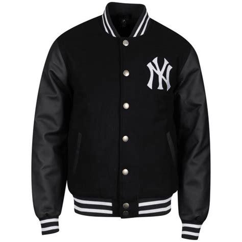 Hoddie Yankess Ukm Limited majestic s yankees fastball letterman jacket black