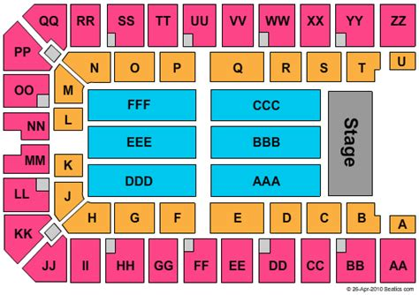 Ector County Search Disney On Tickets Seating Chart Ector County Coliseum
