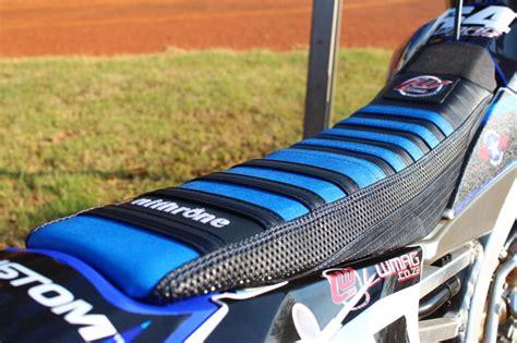 dirt bike seat cover staples nithrone custom seat cover review motocross enduro