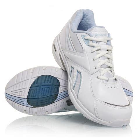 reebok lifewalk dmx max wd womens walking shoes white