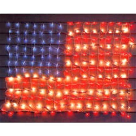 American Flag Lights by 3 X 5 American Flag Net Light Set Findgift