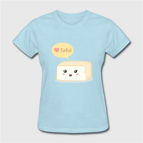 Adorable Shirts Tofu Food Doodle T Shirt Spreadshirt