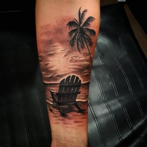 tattoo beach designs sunset black and white www imgkid the image