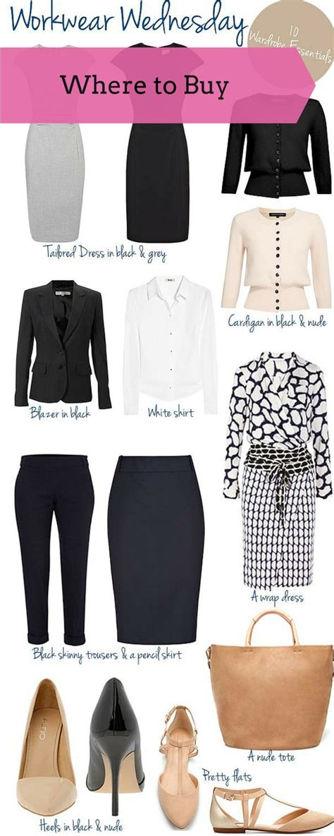 Workwear Wardrobe by 10 Work Wardrobe Essentials For Every Newspapergrl