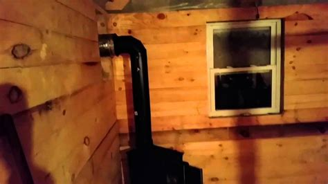Adding Wood Stove To House - grid cabin update woodstove installation 1 1 2015