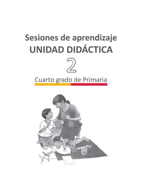 Sesiones De Cuarto Grado De Primaria 2015 Newhairstylesformen2014 | unidad 2 sesiones cuarto grado 2015