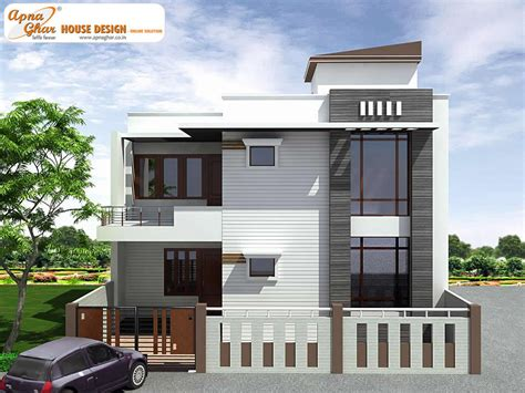 4 bedroom modern duplex 2 floor house design area 150