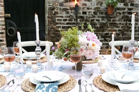 Backyard Elopement Ideas A Backyard Dinner In Charleston Entertaining Idea