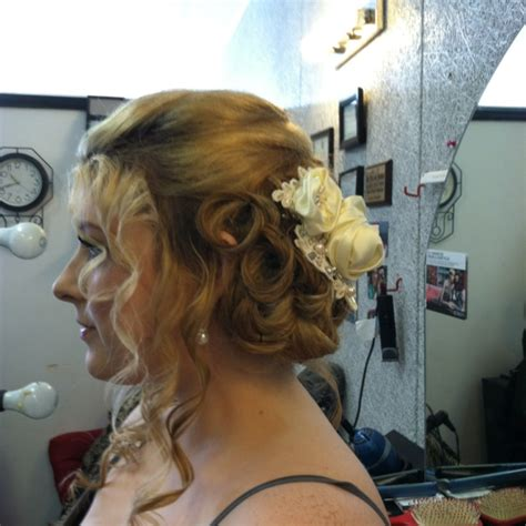 hair braid across back of head updo for wedding portrait my daughter loose french