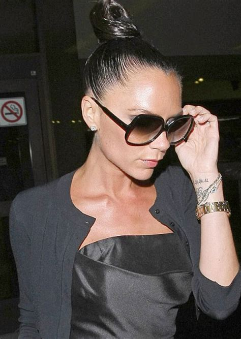 victoria beckham tattoo essex celebrity s tattoos all around the world april 2011