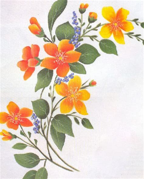 imagenes flores de tela imagenes flores para pintar tela imagui