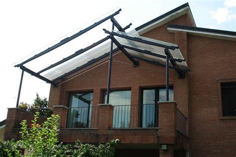 tettoie in ferro e policarbonato pensiline coperture e tettoie