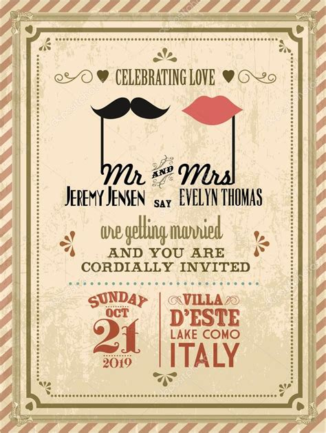 Wedding Invitations Card Stock by Vintage Wedding Invitation Card Stock Vector 169 Nglyeyee