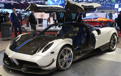 blue pagani pagani huayra bc for sale production 20 cars