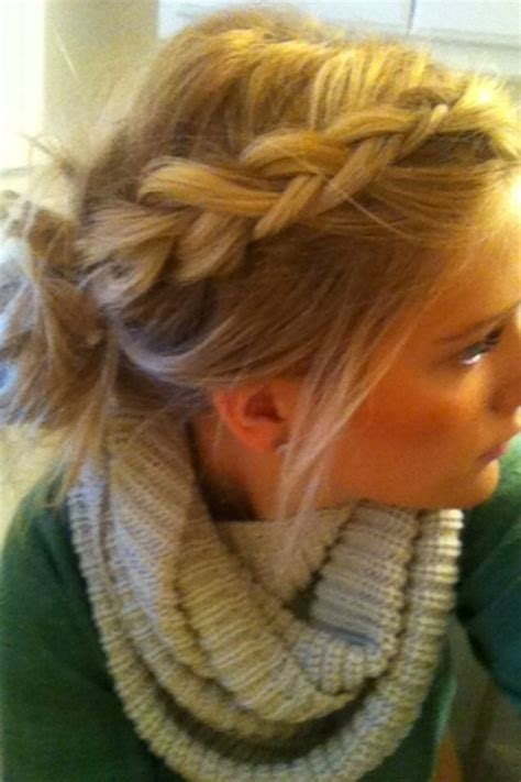 cute braided hairstyles going into a bun for black people braid into messy bun hair pinterest beautiful updo