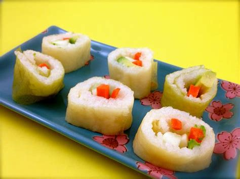 How To Make Sushi With Soy Paper - sushi wrapped with soy paper for picky eaters who